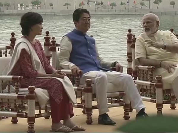 shinzo abe in ahmedabad