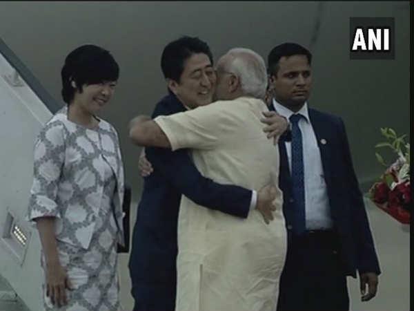 Shinzo Abe Ahmedabad Japan Pm Gujarat Visit Read The Update