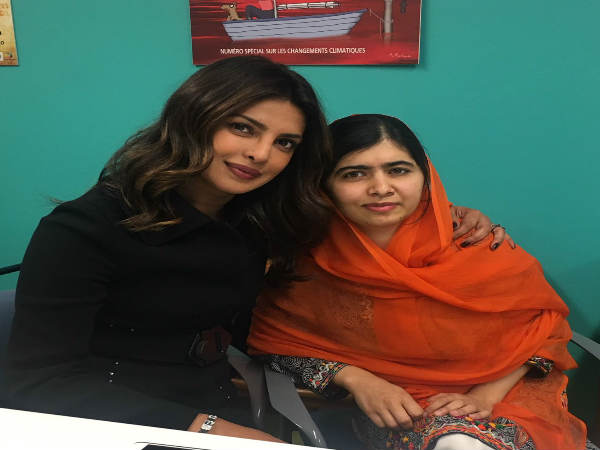 Priyanak Chopra Met Malala She Can T Believe It
