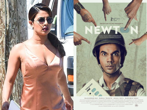 Priyanka Chopra Upset On Newton Oscar Entry