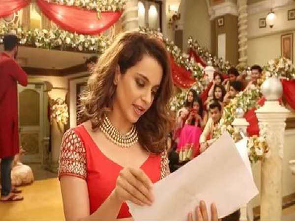 Kangana Ranaut Aib Song Pokes Fun Shahrukh Khan Hrithik Roshan Karan Johar