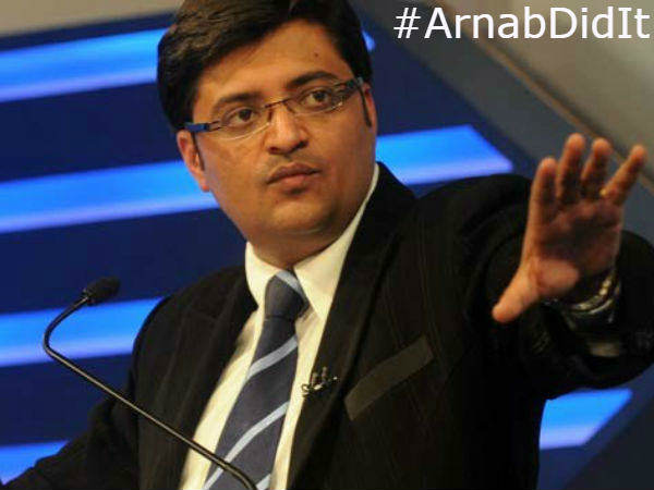 Arnab Goswami Is Trending On Twitter Thanks Rajdeep Sardesai