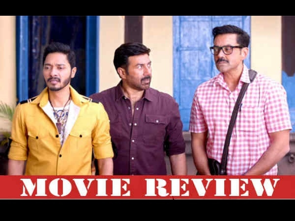 Poster Boys Movie Review Gujarati