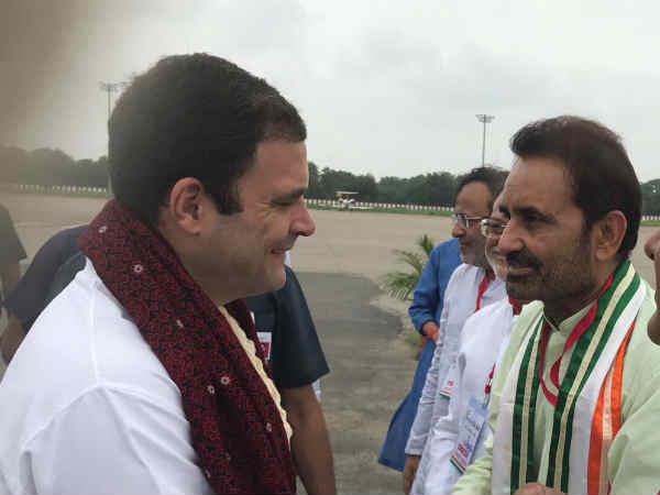 Rahul Gandhi Reached Ahmedabad Samvad Program