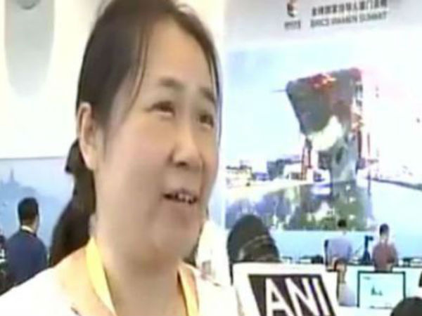 Brics Summit This Chinese Journalist Loves India Hindi Bollywood Song