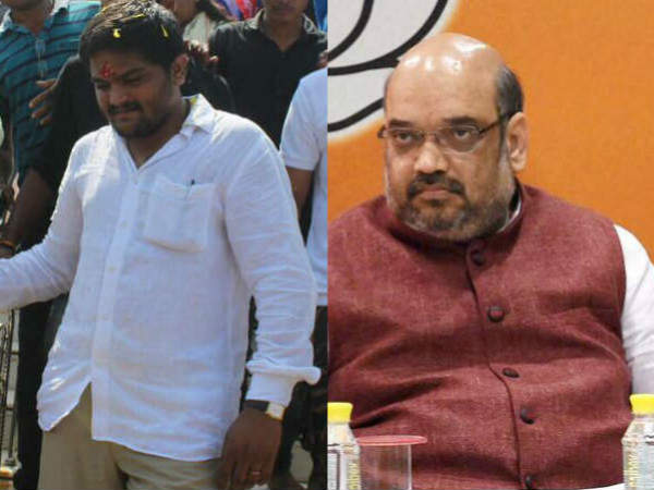 Bjp S Gujarat Gaurav Yatra Against Hardik Patel Sankalp Yatr
