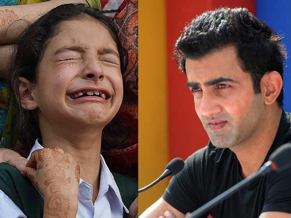 Gautam Gambhir Has Pledged To Support The Education Of Slain Asi Abdul Rashid S Daughter