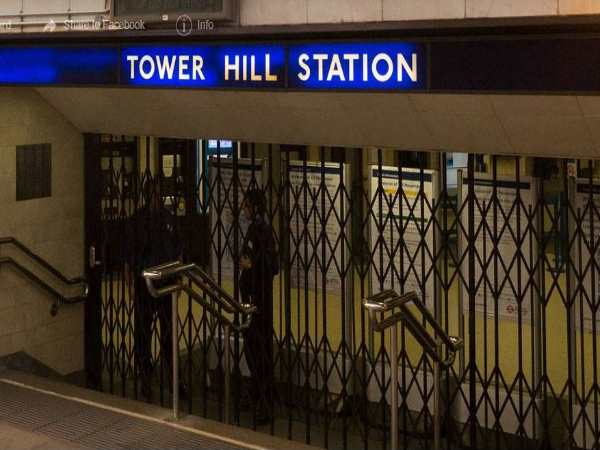 London Explosion Reported At Tower Hill Station On The Underground