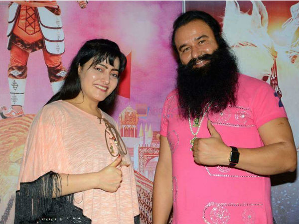 Lookout Notice Has Been Issued By The Police Against Honeypreet Insan