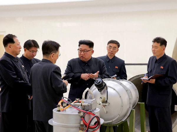North Korea Hydrogen Bomb Missile Test