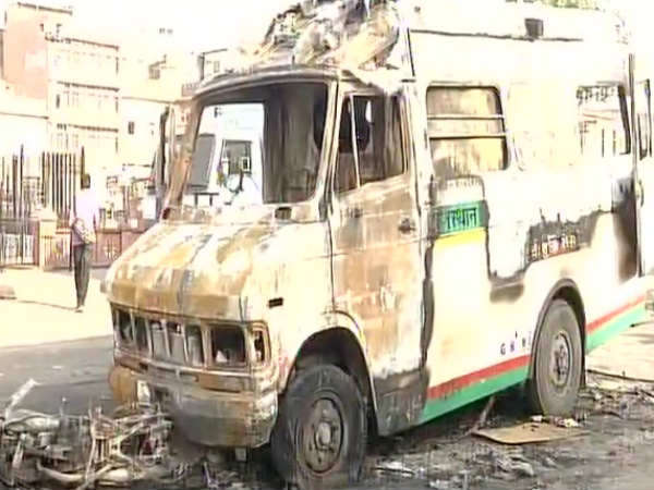 Jaipur Locals Clash With Police Ramganj Area