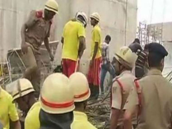 Bhubaneswar 2 People Dead 10 Injured After Portion A Flyover Collapsed In Bomikhal