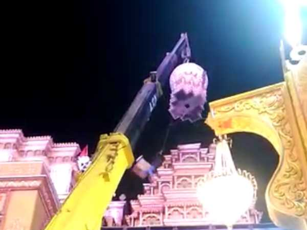 Accident During Preparation Ganesh Visarjan Pune