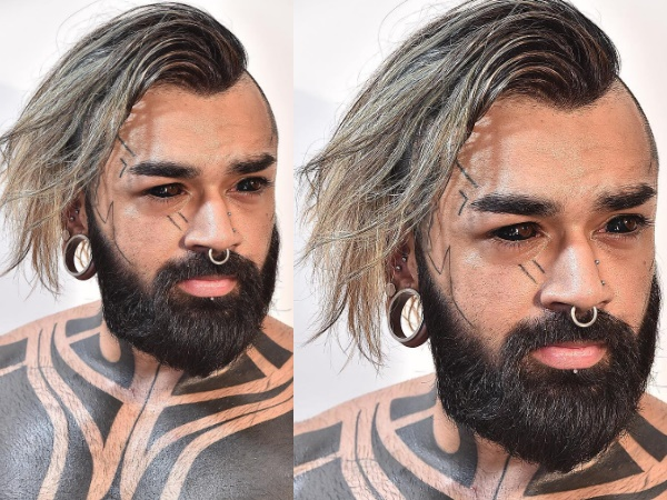 Meet The Delhi Man Tattoographer Karan Who Is The First Indian To Get His Eyeball Tattooed