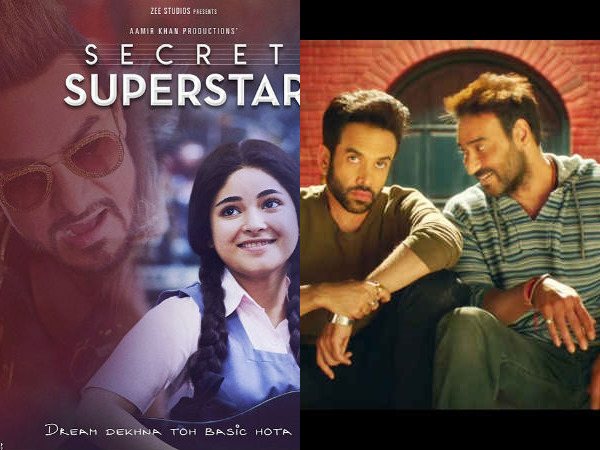 Know Secret Superstar Box Office Collection Golmaal Again Ca
