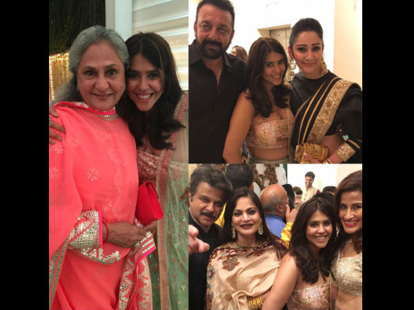 Ekta Kapoor Pre Diwali Bash Photos