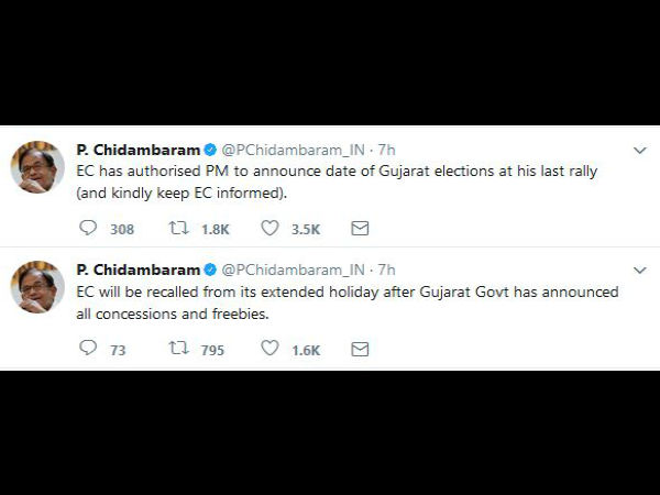 gujarat election dates