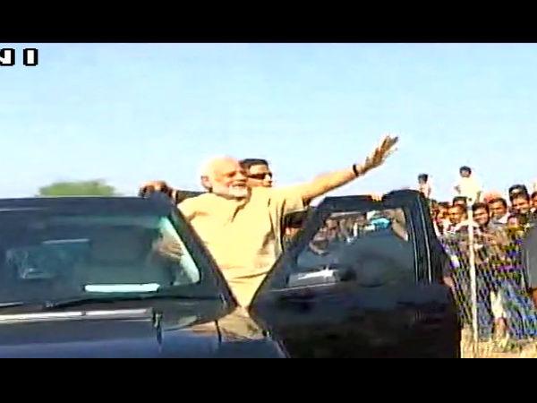 Prime Minister Narendra Modi Gujarat Visit Day
