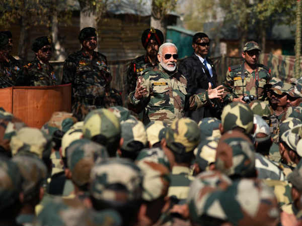 Prime Minister Narendra Modi Celebrate Diwali With Army Jawans