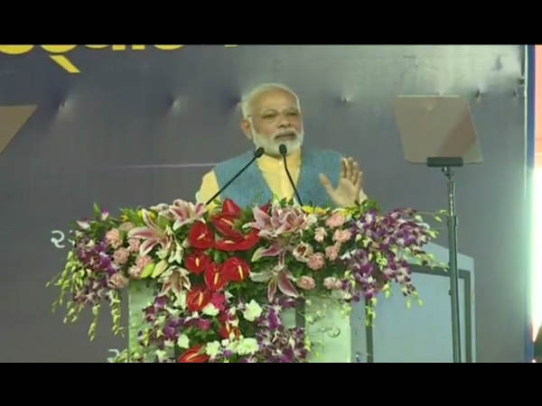 Pm Modi Speech At Ghogha Bhavnagar Gujarat Main Points