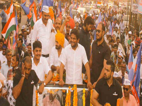 Bhavnagar Huge Crowd Gathered At Hardik Patel Sankalp Yatr