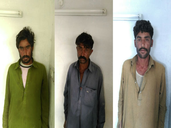 Kutch 5 Pakistani Boats 3 Pakistani Citizen Captured Bsf