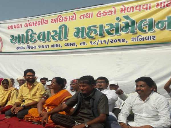 Gujarat Election 2017 Adivasis Protest Over Misuse Quota Ben