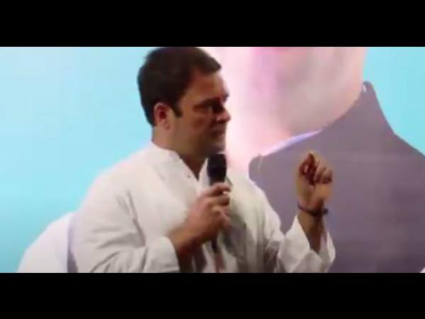 Rahul Gandhi Speech On Gst Demonetization At Surat