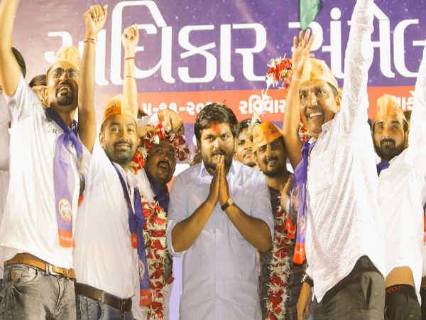 Gujarat Election 2017 Hardik Patel Says Patidars Will Supp
