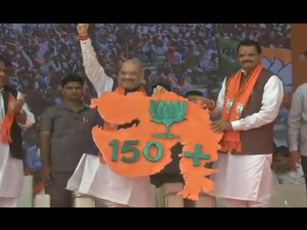Bhavnagar Amit Shah Asked Congress What They Do Gujarat