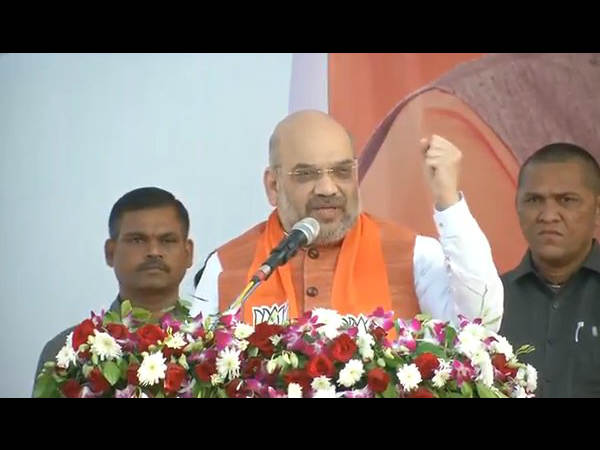 Gujarat Election 2017 Amit Shah Addresses Rally At Bharuch