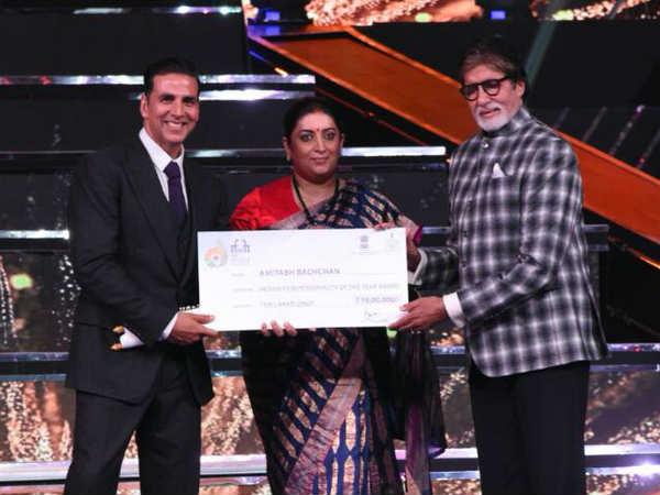 Iffi 2017 Amitabh Bachchan Won Film Personality The Year Awa