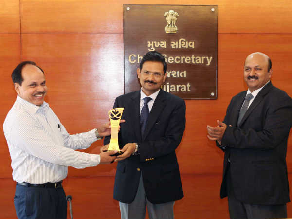 Gujarat Government Got Award From Center Keep Best Law Order