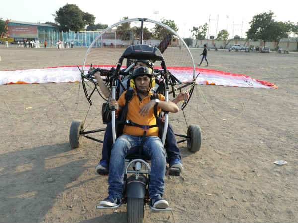 Gujarat Election 2017 Dahod Election Material Shared Paragliding