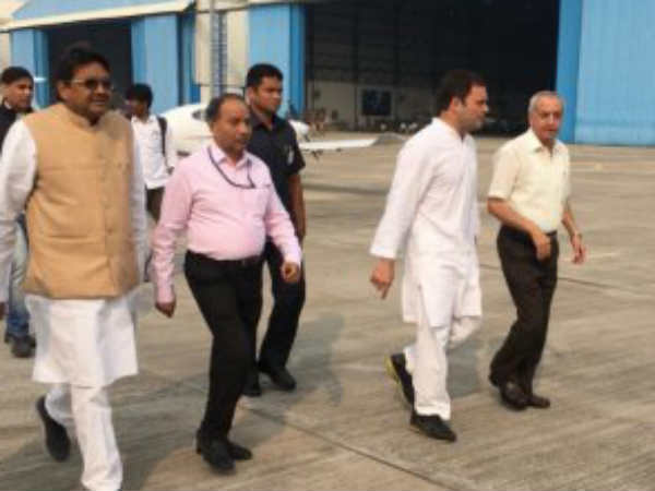Rahul Gandhi Reached Raebareli Meet The Aggrieved Ntpc Blast