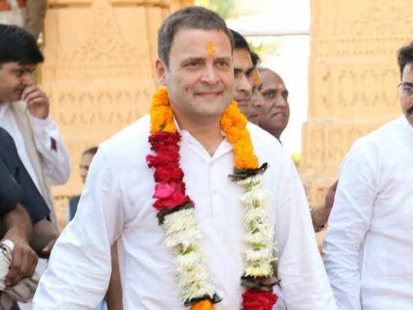 Congress Leader Rahul Gandhi Reach Somnath Temple