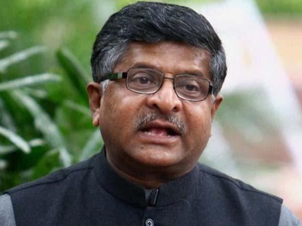 Gujarat Election 2017 Union Minister Ravishakar Prasad Addre