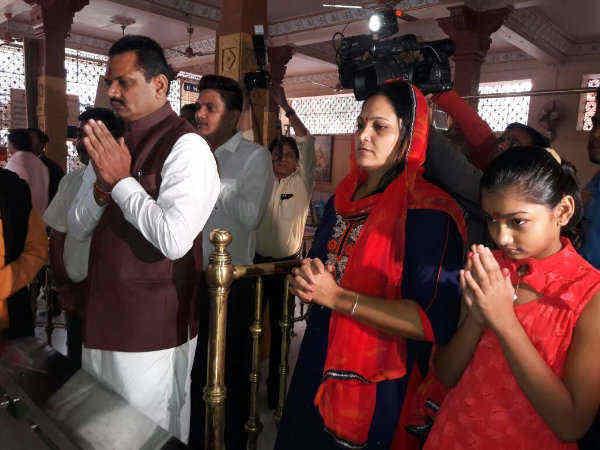 Gujarat Bjp President Jitu Vaghani Files Nomination Form Tod