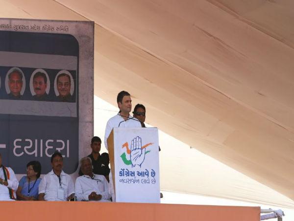 Rahul Gandhi Road Show Bharuch