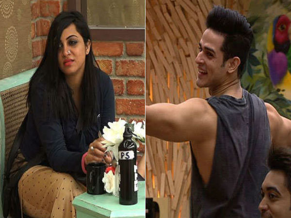 Priyank Sharma Arshi Khan Fight Bigg Boss
