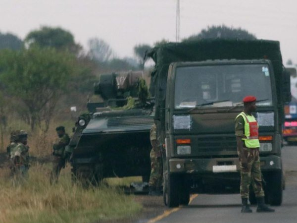 Zimbabwe Military Attempt To Coup President Robert Mugabe And His Wife Arrested