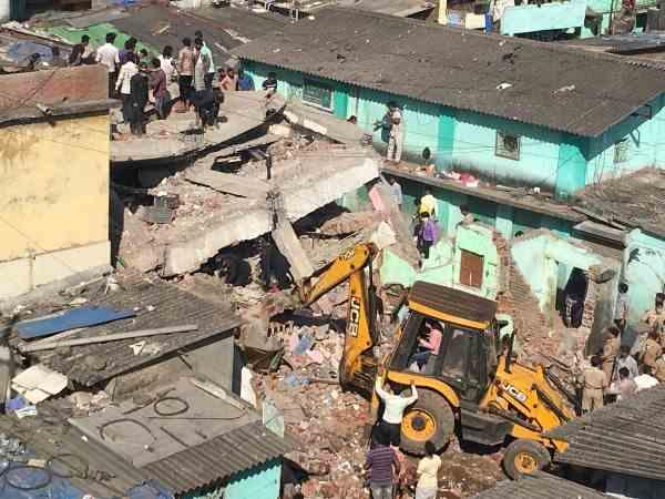 Building Collapses Bhiwandi Mumbai