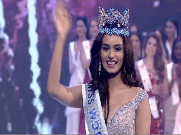 Haryana Girl Manushi Chillar Is The New Miss World