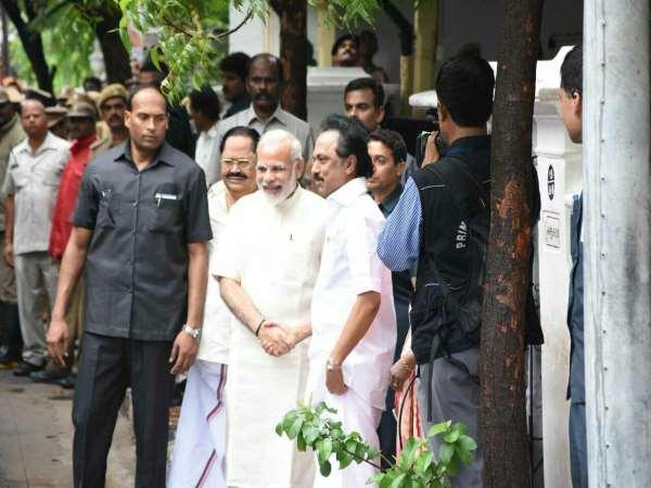 Narendra Modi Visit Chennai In Anniversary Of Tamil Newspaper Thanti