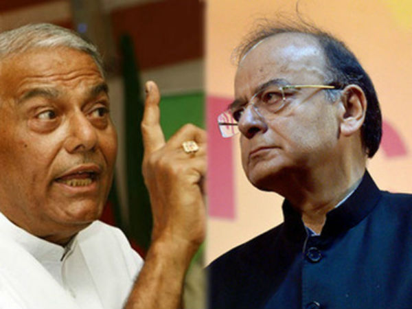 Arun Jaitley Burden On Gujarat Says Yashwant Sinha