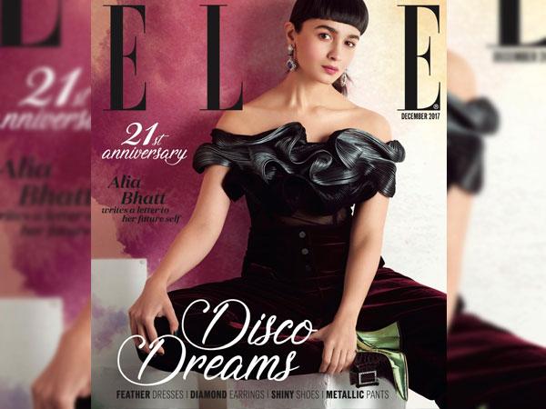Alia Bhatt On The Elle Magazine S Latest Digital Cover