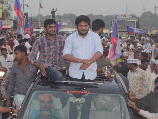 Surat Hardik Patel S Big Road Show