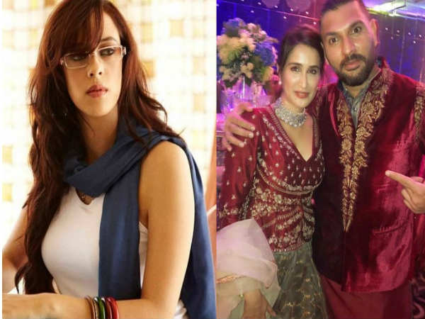 Sagarika Ghatge Share Photo With Yuvraj Singh From Virushka