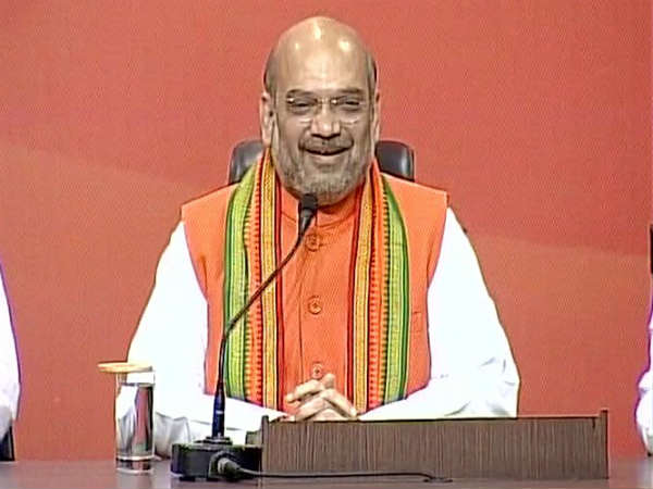 Bjp President Amit Shah Addressed Press Conference On Monday