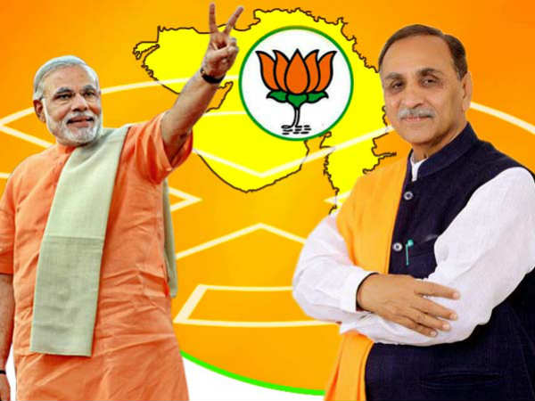 Gujarat Vijay Rupani Gave Official Resignation From Cm Pos